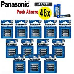 PILAS AA PANASONIC 48X 1.5V...