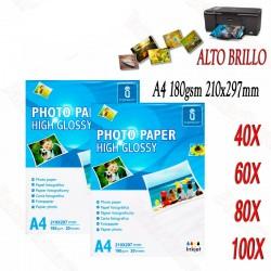 Papel Fotografico A4...