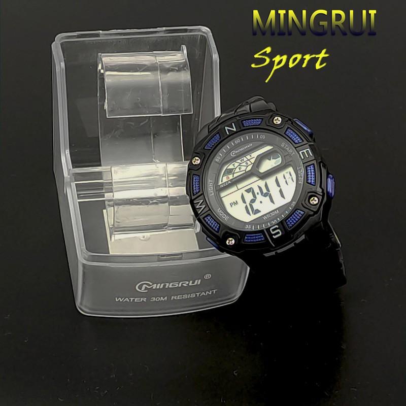 Reloj LED Digital Deportivo azul